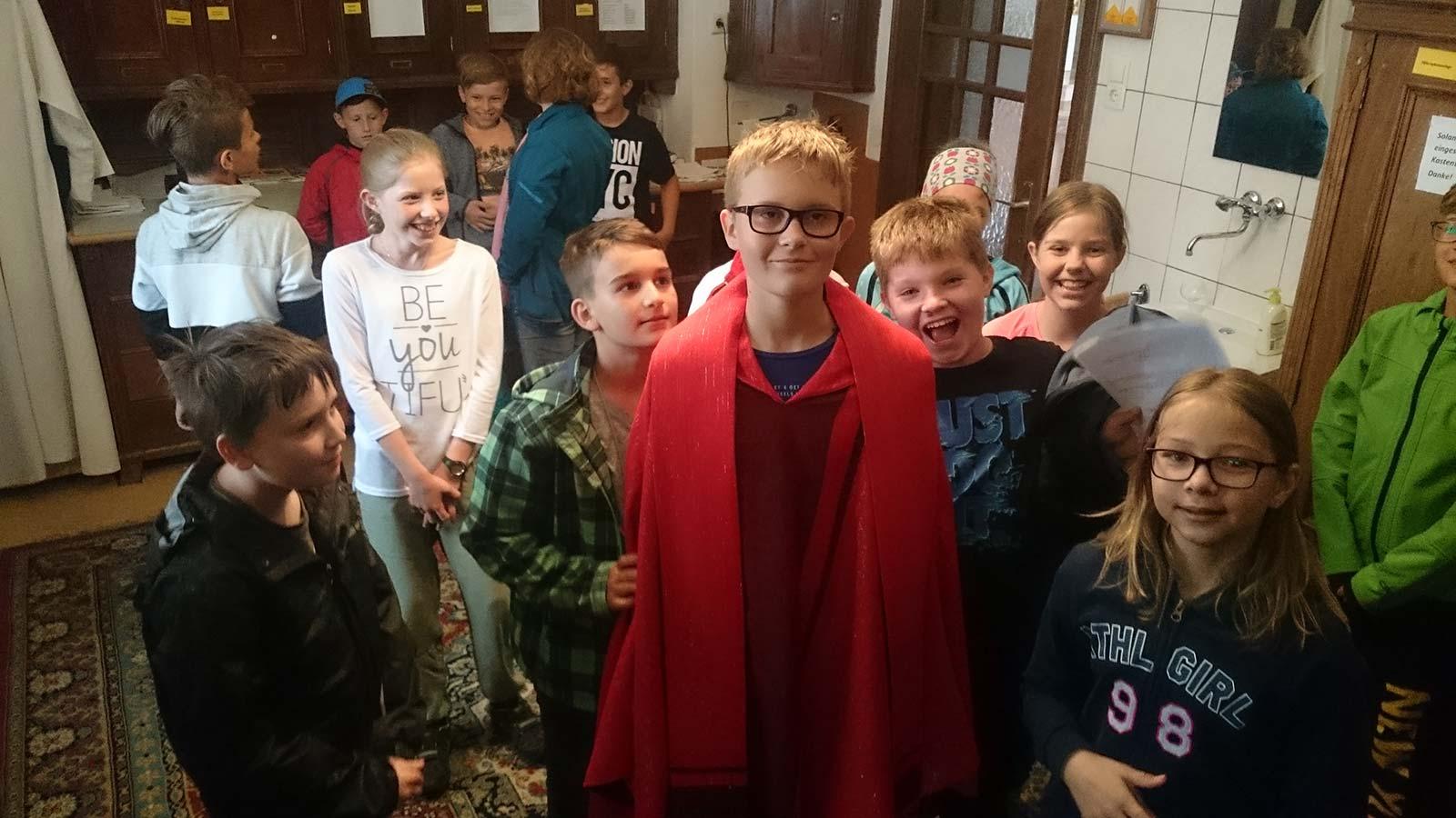 Religion, Besuch der Stadtpfarrkirche, Juli 2017 | BRG Wörgl