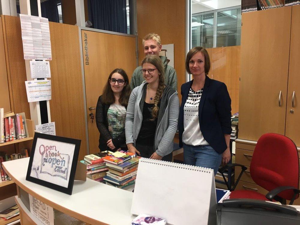 Schulbibliothek, Team HAK   BRG Wörgl